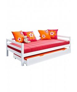 Кровать детская МАЛЫШ с дополнительным спальным местом