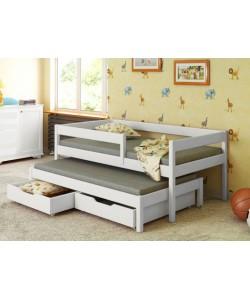 Кровать двухъярусная выкатная НЕМО