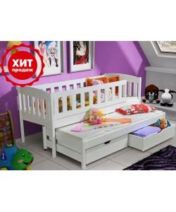 Кровать двухъярусная выкатная МИЛЕНА