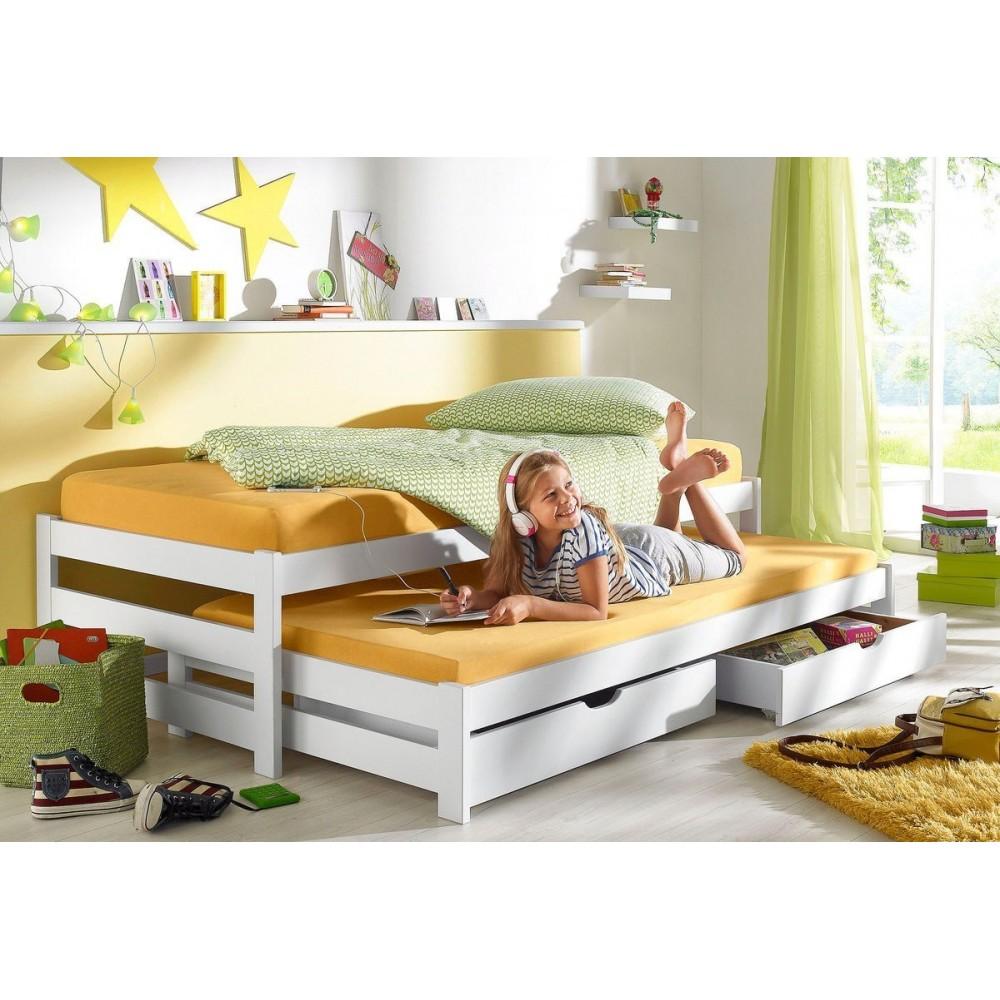 Выкатные кровати для 2-х детей