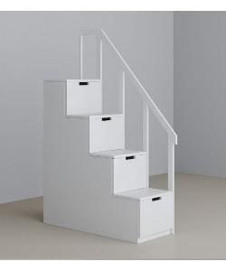 Лестница-комод для двухъярусной кровати