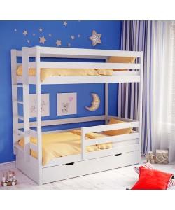Кровать двухъярусная АЛЬБА