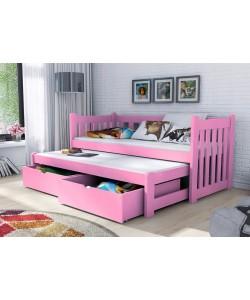Кровать двухъярусная выкатная ВИОЛА