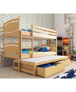 Кровать трехъярусная РОСЛИН