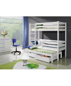 Кровать трехъярусная АЛЯСКА