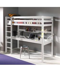 Кровать-чердак АЛЬФА ( с рабочим местом )